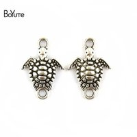 BoYuTe (100 Pieces Lot) 13*19MM Zinc Alloy Antique Silver Pl...