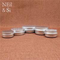 알루미늄 병 비어있는 화장품 로션 크림 은색 용기 리필 오일 립 여행 세트 통 병 5 ~ 50g