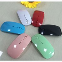 20pcs New Arrival Candy color ultra thin wireless mouse and ...