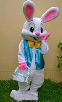 PROFISSIONAL EASTER BUNNY COSTUME MASCOTE Bugs Rabbit Hare Adulto Fantasia Vestido Suit Cartoon