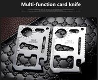 Новый EDC 11 в 1 швейцарский армейский нож из нержавеющей Многофункциональный инструмент для кемпинга карты нож Открытый нож для бутылок Propotabel