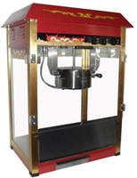 8 OZ paslanmaz çelik 110 v / 220 v elektrikli ticari patlamış mısır makinesi sıcaklık kontrolü ile / Patlamış Mısır Yapma Makinesi / Ticari Mısır Popper