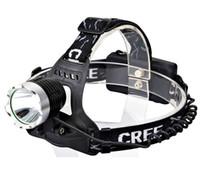 CREE T6 10W LED Koplamp Koplamp Fiets Voorlicht Hoofd Lamp Licht 5000Lumen Focus Fishing Fiets Reving Camping Wandelen Gratis verzending
