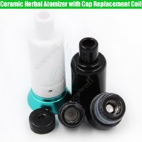 Full Ceramic Herbal Atomizer Replacement Coils Cap The Kiln ...