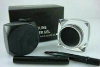 Neue Eyeliner Makeup New Black Eyeliner Wasserdichte Gel Liner Free Pinsel 3 stücke