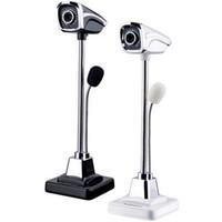 Новый дизайн 360 градусов USB 2.0 HD CMOS веб-камера Камера металл веб-камера микрофон для компьютера ПК ноутбук