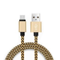 Mirco USB Cable Colorful Braided charging for Samsung Galaxy...