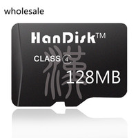HanDisk Black Class4 128MB Black Micro SD Card wholesale Qua...