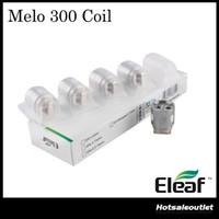 Otantik Eleaf MELO 300 Bobinleri ES Sextuple-0.17ohm Kafa Eleaf Melo 300 Tankı için Sextuple Bobinlerinden Oluşur
