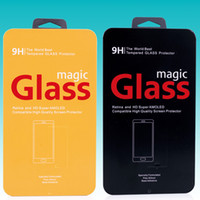 100 pcs Frete grátis de alta qualidade caixa de embalagem de lata para protetor de tela de vidro temperado protecBOX tor para iphone5s 6 6 além de
