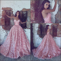 Blush Pink Ball Gowns Prom Dresses 2018 New Sweetheart with ...