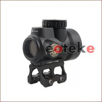 Trijicon MRO Estilo Holográfico Red Dot Sight Óptica Scope Tactical Gear Com 20mm Scope Mount Para Caça Rifle