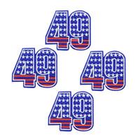 10 PCS 편지 배지 의류 철제에 대한 패치 봉합 Applique 다리브 패치에 봉제 옷 DZ-293