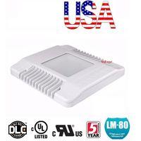 미국 + 높은 베이 빛 130W 150W 주유소 램프 LED 캐노피 라이트 산업 조명 Meanwell 드라이버 AC 90-277V UL DLC