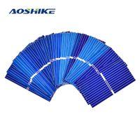 Aoshike 100pcs التي 39 * 19MM لوحة للطاقة الشمسية DIY خلية DIY شحن الهاتف الخليوي الشمسية