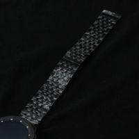 Yüksek Kalite Yeni Paslanmaz çelik Cilalı Saat Kayışı sapanlar bilezik 20mm 22mm Siyah Promosyon aksesuarları kelebek toka dağıtım kemerleri