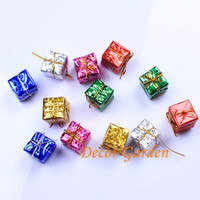 2017 Nuovo 3 cm Mix Colors Regalo piccolo di Natale Regalo artificiale di alta qualità per la decorazione di Natale