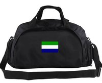 Сьерра-Леоне вещевой мешок страна команда тотализатор баннер цвет рюкзак футбольный багаж спорт плечо вещевой открытый слинг пакет
