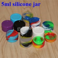 gros 5 ml de qualité alimentaire en silicone contenant de la cire des récipients en silicone pour la cire 5 6 7 10 22 26 ml