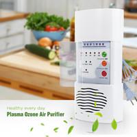 Plasma ozone Purificateur d'air Home Office germicide électrique Concentrateur d'oxygène Filter Cleaner Deodorizer Chinese White Plug + B