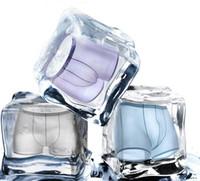 NOVA Atacado-Seamless Ice Silk cintura baixa homens sexy boxers breve Suave e moda