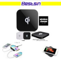 Bestsin Q8 Qi Wireless Charger Charging Pad for Samsung S7 S...