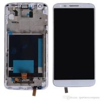 LCD für LG G2 D802 D805 VS980 Original LCD-Display - schwarz weiß LCD-Touchscreen Digitizer + Rahmenmontage + kostenlose Werkzeuge