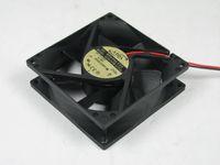ADDA AD0824HB-A70GL DC 24V 0,16A 2-poliger 2-poliger Stecker 80x80x25mm Server Kühlung Lüfter