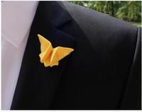 Spille a farfalla in tessuto spille handmake boutonniere spilla spille corpetto accessori per uomo spille a fiore per regali festa di nozze