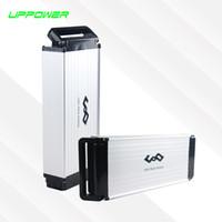 Batterie de lithium électrique de haute qualité de vélo électrique de 36V 13Ah de rack de eBike avec le boîtier en aluminium de plat + BMS + chargeur