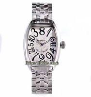 Высококачественные сумасшедшие часы 8880 CH белый циферблат автоматические мужские часы из нержавеющей стали браслет высокого качества человека новых деловых часов