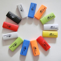 Qualität 300pcs, kleiner Hund USB 2.0 Gedächtnis TF-Kartenleser, Mikro-Sd-Kartenleser geben Verschiffen frei