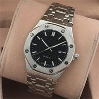Mens Quartz Watch Imported Quartz Calendar Stainless Steel M...