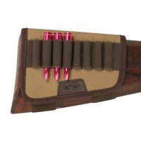 Tourbon Tactical Caccia Fucile Fucile Gun Buttstock Resto Rest 10 Round Cartucce Holder Accessori pistola di tela