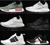 Newest NMD_R1 PK Triplr White Japanese BOOST Sneakers Fashio...