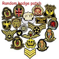 10pcs Ramdon Badge Patches for Clothing Iron Embroidered Pat...