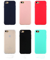 Ultra Thin Matt TPU Case Soft Silicone Back Cover For iphone...