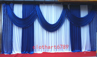 3*6m (10ft*20ft) funeral backdrop church Stage Curtain with ...