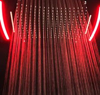4 Funktion verborgen Duschkopf Elektronische LED Farbwechsel Duschkopf Armaturen Regen Dusche Wasser Herbst Vorhang Spray Badezimmer