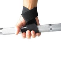 Halter Ters Sapları Eğitim Salonu sapanlar Eldiven Bilek Desteği Bar Gym sapanlar Halter sarma Vücut Geliştirme Tutma Eldiven spor kemer