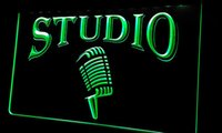 Ls282- g Studio On The Air Microphone Bar Neon Light Sign Dec...