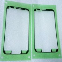 30PCS LCD الجبهة غطاء حماية الإطار الخلفي غطاء البطارية الإسكان لاصق ملصق لسامسونج غالاكسي S5 S6 S7 حافة ملاحظة 4 5