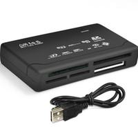عالمي متعدد في 1 الكل في واحد قارئ بطاقة الذاكرة USB SD SDHC الخارجية ميني مايكرو M2 MMC XD CF الشحن السريع