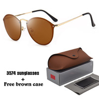 3574 Brand sunglasses men women fashion Retro Cat Eye sun gl...