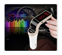 G7 Smartphone Bluetooth Car Kit MP3 Radio Player FM Transmitter Modulator 2.1A Autoladegerät Wireless Kit Unterstützung Hände Micro Card