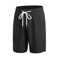 Wholesale- 2017 New Loose Drawstring Quick-dry Shorts Men Fitness Men's Workout Casual Shorts S1