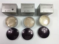 whosale 3Color Laura Mercier Powder 메이크업 루스 세팅 파우더 LM 페이스 컨실러 파운데이션 Min pore Brighten Concealer 29g 무료 배송