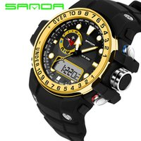 2019 Hot Sale SANDA Fashion Digital Watch G Style Waterproof...