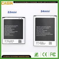 Samsung S4 Mini Için pil S3 Mini piller Galaxy S4 mini i8190 i8160 S7562 i9190 İç yedek piller
