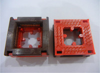 WELLS-CTI ic test soketi 647C1442112 PLCC44PIN soket içinde 1.27mm pitch yanık
